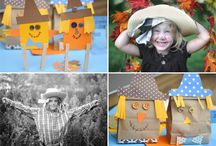 **Fall Crafts/Thanksgiving decor** / Fall, thanksgiving crafts, specific recipes, decorations...anything for fall. / by Amber Scully