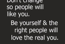 be the you..