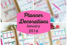 Our Chic Planner / Our favorite planner inspiration pins!  Chic: elegantly stylish