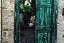 Unique, stunning doors..