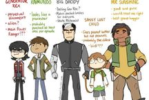 Space dad and his kids (Voltron)