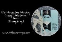 s u masculine christmas card  video / by Lavinia Dow