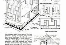 popenhuizen en tekeningen