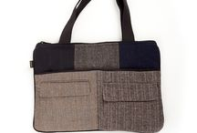 Eco-Friendly Purses & Wool Bags / These eco-friendly purses and bags, created from upcycled sweaters, feature unique pattern and texture. All are one of a kind.