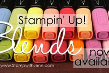 Stampin' Up! Blends Alcohol Markers