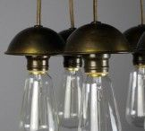RENEW Industrial Vintage Lighting / Antique bare bulb fixtures and commercial lights are simply timeless. We love to see them go back to the cities they came from, whether into a new commercial location or re appropriated into a beautiful old or heritage home.