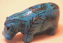 Zvířata / keramika