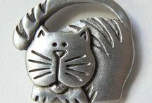 Cat Art - 3D / by Deena Banks
