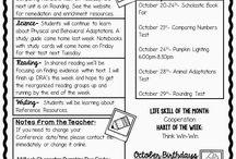Class Newsletters