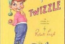Twizzle memorabilia