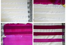 Fabrics painting