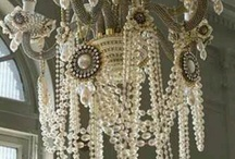 Chandelier glamour / by Restoration Redoux