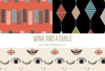 Surface Pattern Designs by Halee Holland / Pins from my Portfolio / by Hey! Morningstar