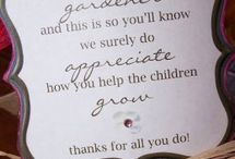 Nursery thank you
