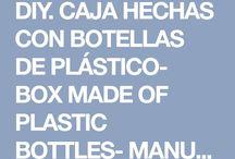 cajas de botellas plasticas