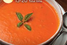 Soupe crème aux tomates sans lait