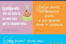 Frasi celebri tratte dai libri per bambini #quote / 10 frasi tratte da celebri libri per bambini #libriperbambini #citazioni #quote #infografica http://www.milkbook.it/giornata-mondiale-del-libro-2015/
