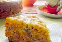 Пирог тыква и апельсин