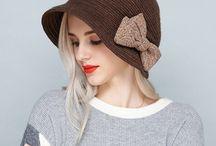Валяные шапки, шляпки