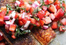 Jedzenie- ryby i owoce morza