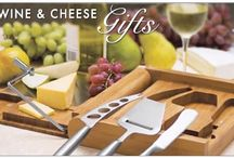 Sensational Wine & Cheese Logo Gifts / A fine cheese, a fine wine, and a fine logo gift from you to go with.  Life doesn't get better.