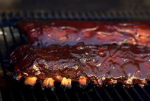 grilled or smoked food