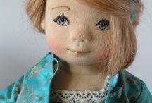 Игрушки: Тканевые куклы