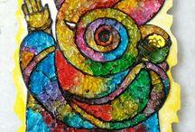 Crystal Art Work