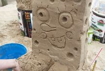 Backyard Sandcastles / Want to build a sandcastle without a beach?  NO PROBLEM - I live in a Condo and this is what i do