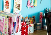 Craft rooms & storage