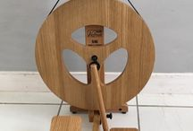 Spinning Wheels / Weft Blown sells Louët and Schacht spinning wheels through our website, from our studio and at yarn festivals around the UK. If you want to know more about our products then please check out our pins.