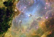 Het heelal / mooie plaatjes van sterren, supernova's en hemelwolken