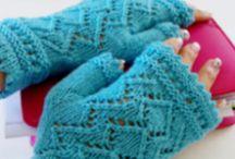 Plédy šátky pletené