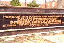 Alamat Sekolah di Kabupaten Gunungkidul