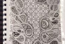 Zentangle / Repinned from S.v.Hoesslin