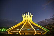Alguns dos monumentos brasileiros / Aqui estarão alguns do monumentos importantes brasileiros