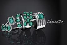 Collezione Cleopatra / L'energia del colore, la serenità delle sue vibrazioni... Lo smeraldo è l'elemento chiave della nuova collezione Cleopatra