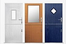 Composite Stable Doors / Affordable stable doors for homes, custom made and delivered free. We are composite stable door experts and offer a fitting service with our strong GRP composite stable doors.