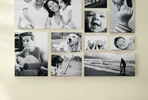 canvas photo walls