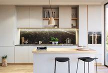 Apartment kitchen / by Un jour de moins Designs
