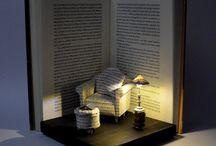 Book art photography