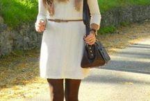 Look Inverno / Como usar vestidos e botas