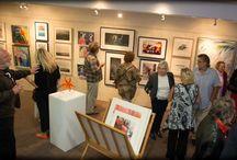Pure art autumn exhibition at powder mill batt