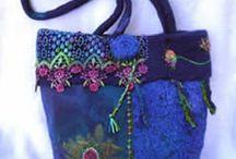 Knitting/Felt Bags