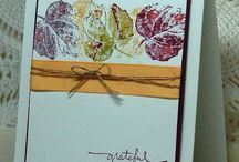 Stampin up French Foliage