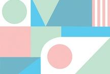 Geometrické vzory / Textilní vzory