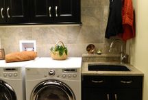 Laundry room remodel / by Nikki Hall