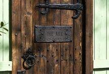 Drichuset døren
