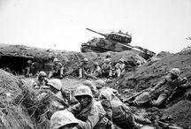 USMC WWII Shermans .