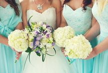 Bridesmaids / Glamorous bridesmaids gowns to flatter